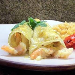 Shrimp and Crab Enchiladas.