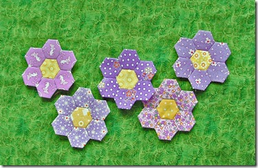 grandmothers flower garden hexes