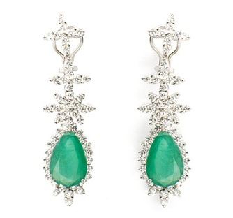 prince Jewelery Dimond earrings