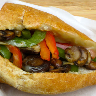 Philly Cheese & Veggie Sandwich