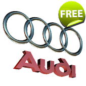 3D AUDI Logo Live Wallpaper