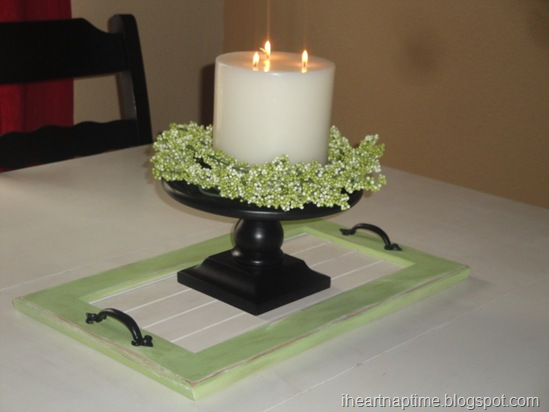 tray for candle