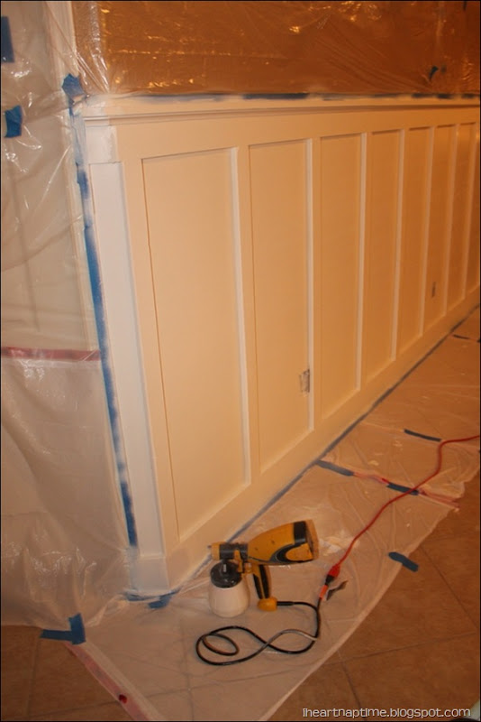 Wainscoting- Board and Batten Part 1 - I Heart Nap Time