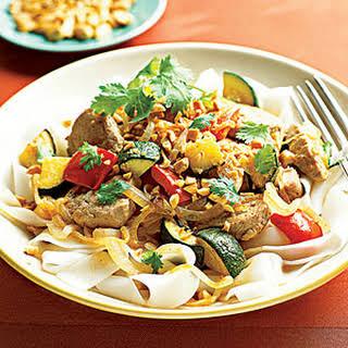 Pork Tenderloin Thai Curry.