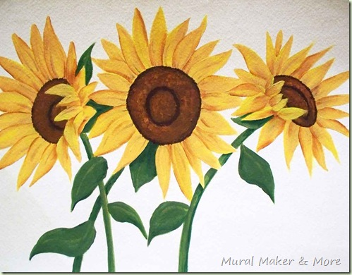 How To Paint Sunflowers Again