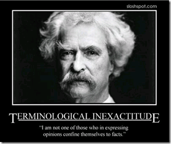 mark twain opinions facts quotes