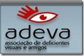 logotipo da ADEVA: concurso de fantasias audiodescritas