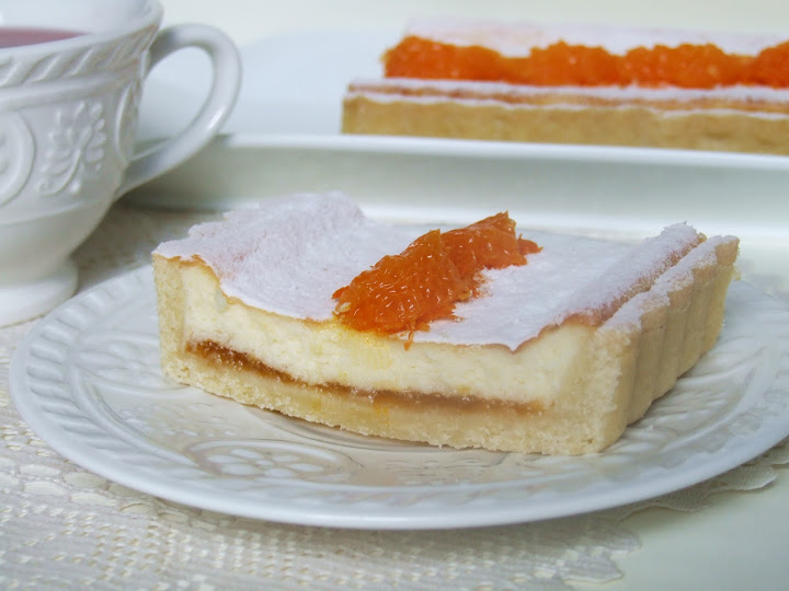 Muccasbronza Crostata Di Mascarpone Al Mandarino
