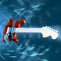 Guitar 3D icon