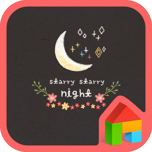 starry starry night 도돌런처 테마 個人化 App LOGO-硬是要APP