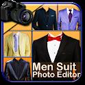 Men Suit Photo Editor icon