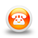 a Pretty Call -Simple Contacts icon