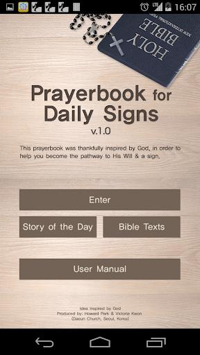 Prayer Book of Sign