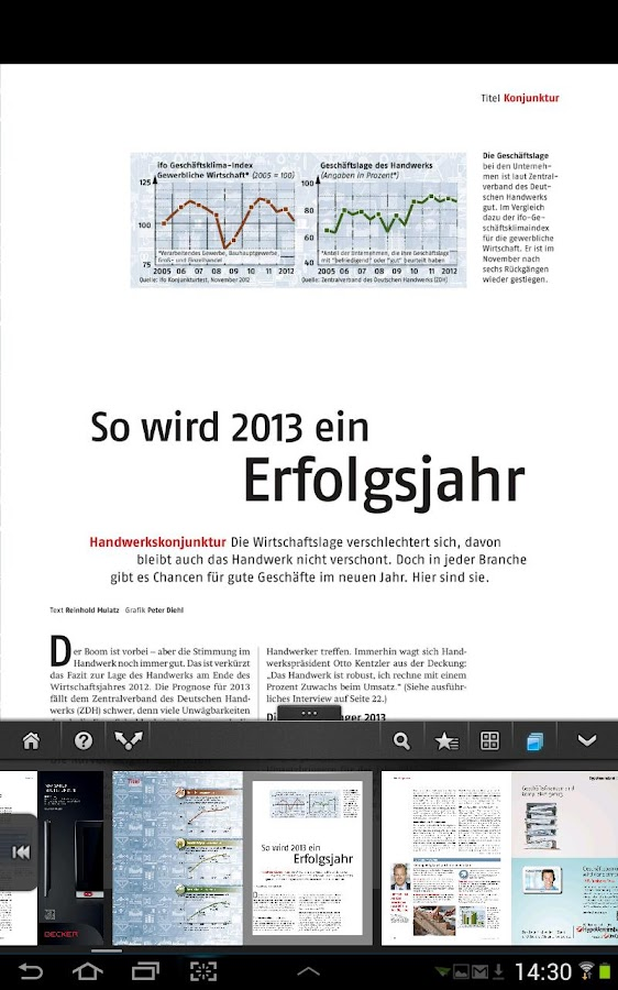 handwerk magazin - screenshot