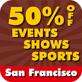 50% Off San Francisco Events