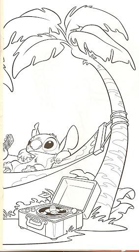 Colorear Lilo Stitch Niño Dibujos Wwwperfectoimagenescom