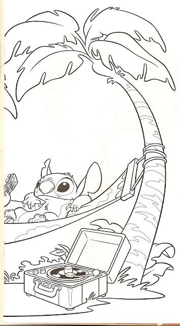Lilo Y Stitch Dibujos Para Colorear Lilo Y Stitch 2