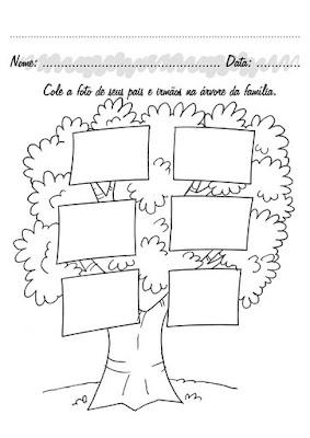 Arbol Genealogico Para Rellenar Imprimir Y Completar Tu