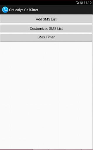 【免費生產應用App】Criticalys CallSitter-APP點子