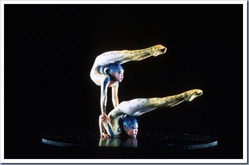 CIRQUE DU SOLEIL.<br /> Alegria.<br /> Costumes: Dominique Lemieux.<br /> Photo: Al Seib.<br /> 1999 Cirque du Soleil inc.