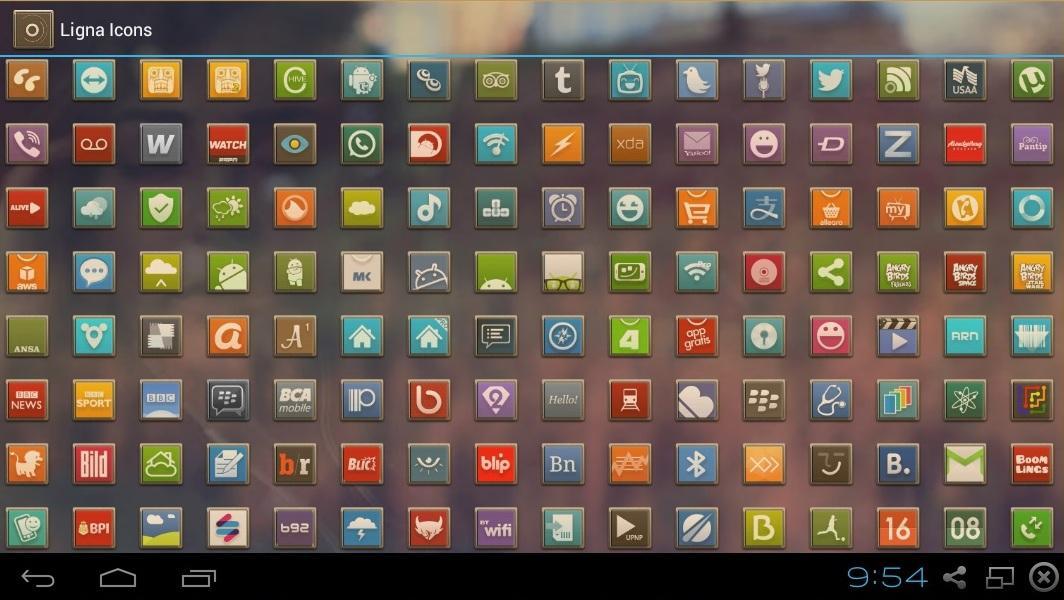 LIGNA ICONS FREE APEX/NOVA/ADW- screenshot