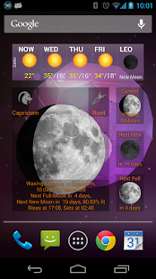 Moon Phase Widget - screenshot thumbnail