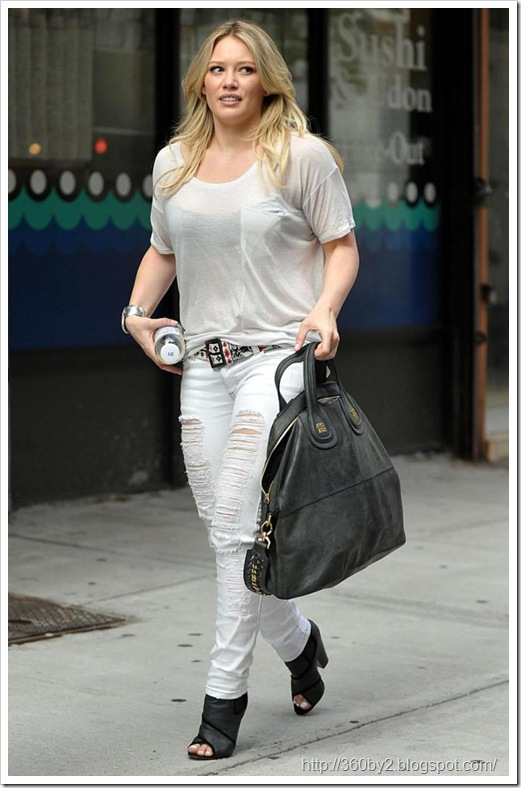 In This Moment Singer Hilary Duff Ruins A Se...