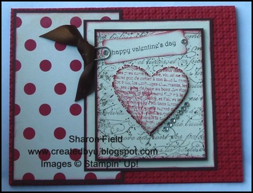CS13 SharonField Youve Seen This Gorgeous Love Letters Designer