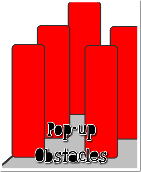 pop up obstacles