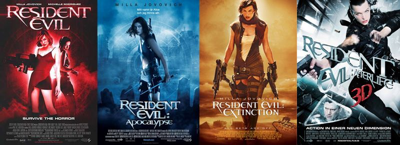 Big Movie Freak I Like The Resident Evil Movies Does That Mean My Standards Are Poor