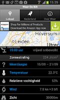 Screenshot of Weer