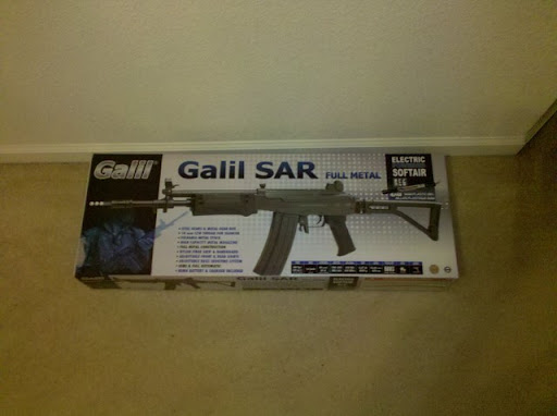Airsoft Guns, pyramyd air, cybergun, galil sar, airsoft aeg