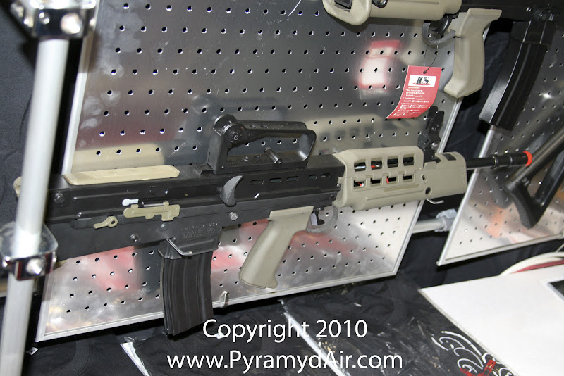 Airsoft Guns, ICS, Shot Show 2011 News Updates, Shot Show 2011 ICS Booth, ICS L85 A2 , Airsoft rifle,Airsoft Automatic Electric Guns, Airsoft assault rifle,Airsoft AEG, Airsoft L85,Pyramyd Air, Pyramyd Airsoft Blog, Airsoft Obsessed, Airsoft Blog
