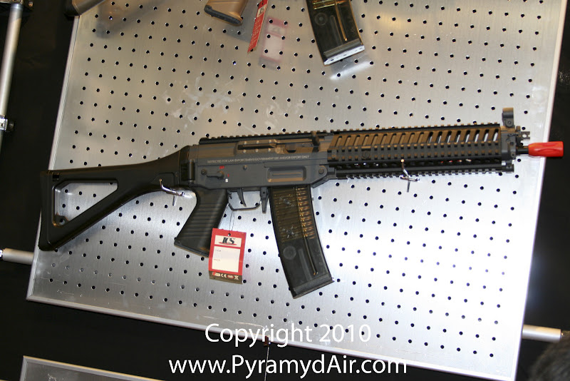 Airsoft Guns, ICS, Shot Show 2011 News Updates, Shot Show 2011 ICS Booth, ICS Sig 51, ICS Sig 52,Airsoft AEG, Sig Sauer,Automatic Electric Gun,Pyramyd Air, Pyramyd Airsoft Blog, Airsoft Obsessed, Airsoft Blog
