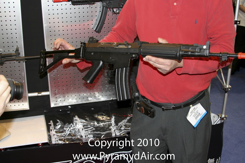 Airsoft Guns, ICS, Shot Show 2011 News Updates, Shot Show 2011 ICS Booth, iCS FNC Airsoft AEG, Shot Show Sabotage, Airsoft AEG,FNH, FN Herstal, FNC,Pyramyd Air, Pyramyd Airsoft Blog, Airsoft Obsessed, Airsoft Blog