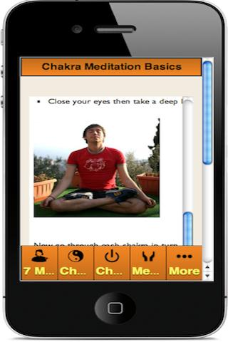 CHAKRA MEDITATION APP (Free) - screenshot