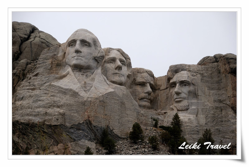 Mount Rushmore, SD, 總統像