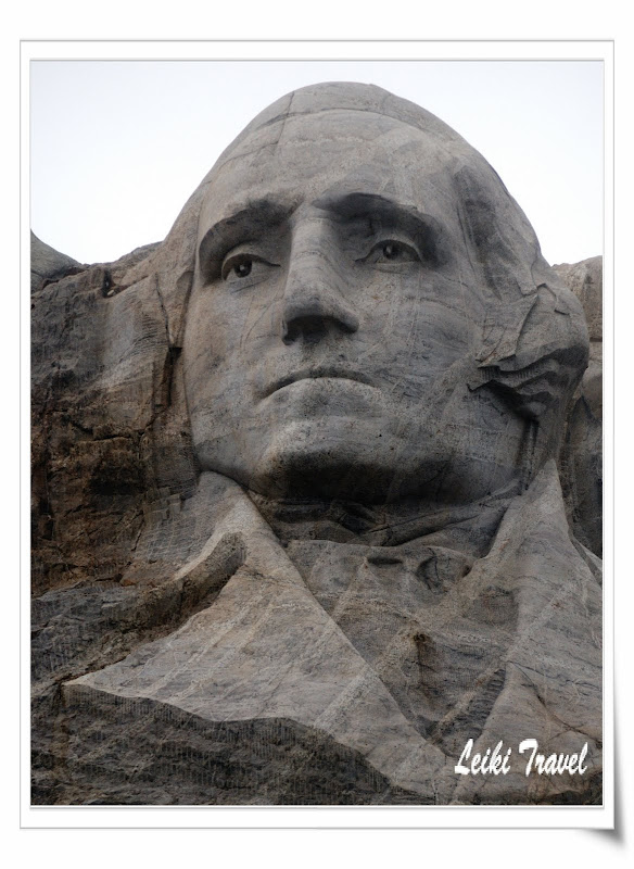 Mount Rushmore 總統石像, George Washington