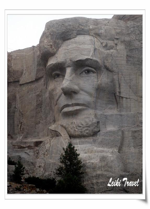 Mount Rushmore 總統石像, Lincoln 林肯
