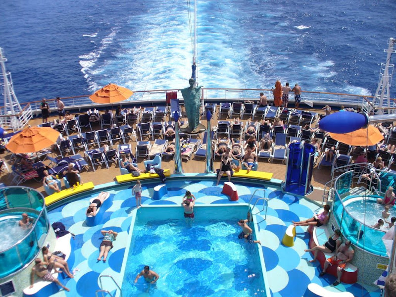 Carnival Dream Pool Questions