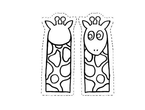 Dibujos De Marionetas Para Imprimir Y Colorear: LAMINAS PARA RECORTAR PEGAR Y PINTAR ANIMALES