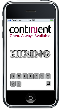 Continuent is hiring