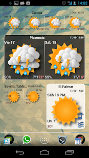 Widgets METEO - screenshot thumbnail