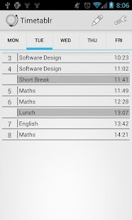 Timetable - School Scheduler - screenshot thumbnail