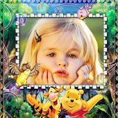 Cartoon Frame for Kid's Photos