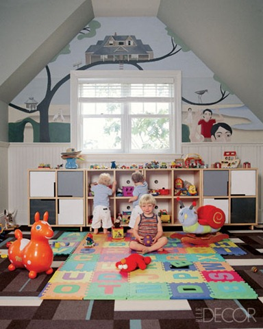 playroom elle decor