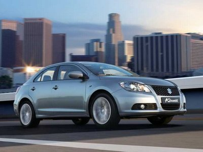 Suzuki Kizashi will be debuted in Europe