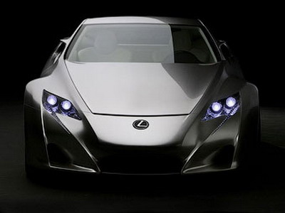 Supercar Lexus LF-A will cost: 290,000 euro