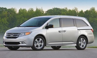 The debut of completely updated Honda Odyssey