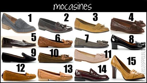 b075f5b5c5c Mocasines: Asos (1, 2, 3 y 11), Blanco (7), Mango (5), Topshop (4) y Zara  (6, 8, 9, 10, 12, 13, 14 y 15).